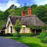 I'm never owning my own home. But I could so live here. Found here: http://www.standout-cabin-designs.com/english-cottage-house-plans.html#