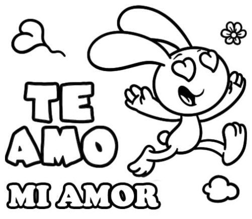 Dibujos Bonitos De Amor Dibujos Romanticos Para Pintar Coloring Pages Color Coloring Pages For Kids