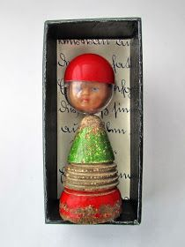 Handmade miniature repurposed doll diorama matchbox size