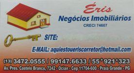 Casa em Condomínio para Venda, Praia Grande / SP, bairro Mirim