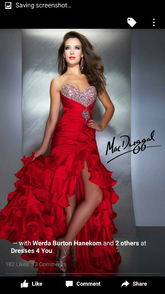 Red and diamonds
