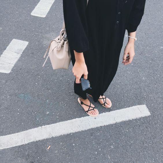 shop celine online - Tot��me NYC dress, Mansur Gavriel bucket bag, C��line sunglasses ...