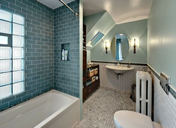 Bathroom Tiles And Bathroom Ideas – 70 Cool Ideas, Which In Small ...