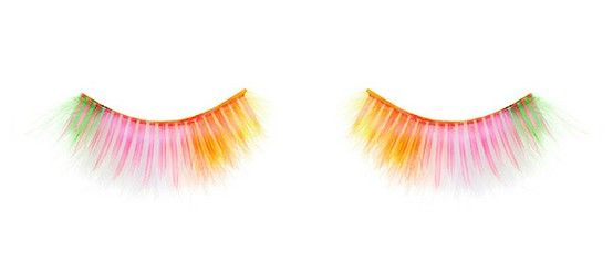 Shu Uemura rainbow feather l false eyelashes