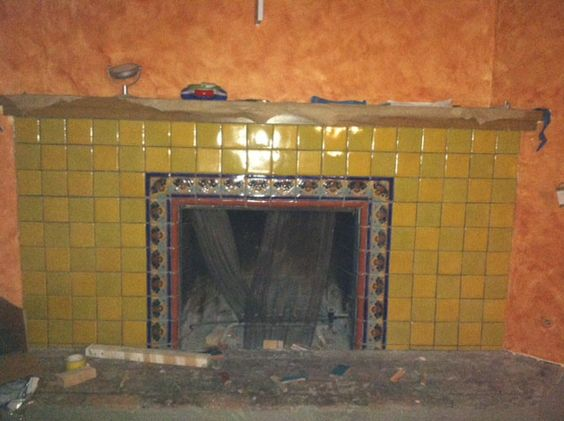 Mexican Tile In A Fireplace Mexican Home Decor Gallery Mission Accesories Copper Sinks