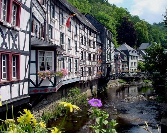 Monschau. Probably the cutest little town in Germany.