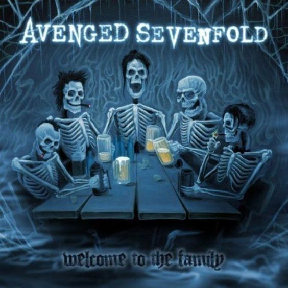 Avenged Sevenfold – Welcome to the Family (single cover art)