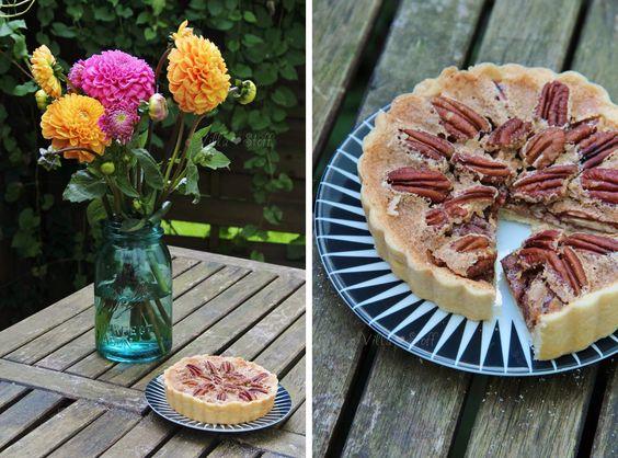 Southern Pecan Pie   Rezept für Pekannuss-Kuchen