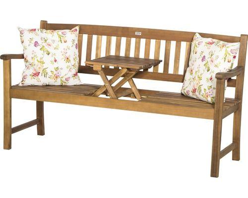Popular Gartenbank Siena Garden Florida Akazie Sitzer braun bei HORNBACH