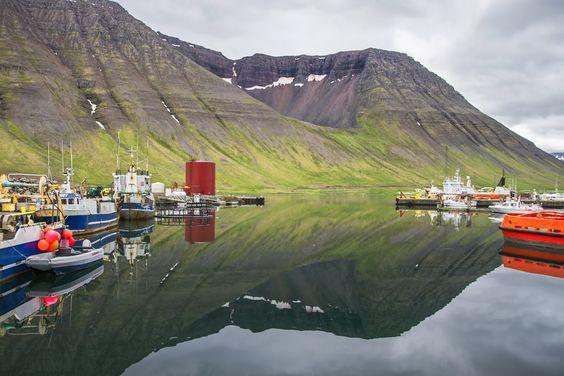 500px / The Harbor In Ísafjörður by For 91 Days