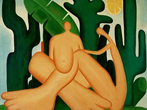 Antropofagia by Tarsila do Amaral (1929)