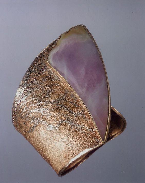 Bracelet--Michael Zobel (jade, diamonds)