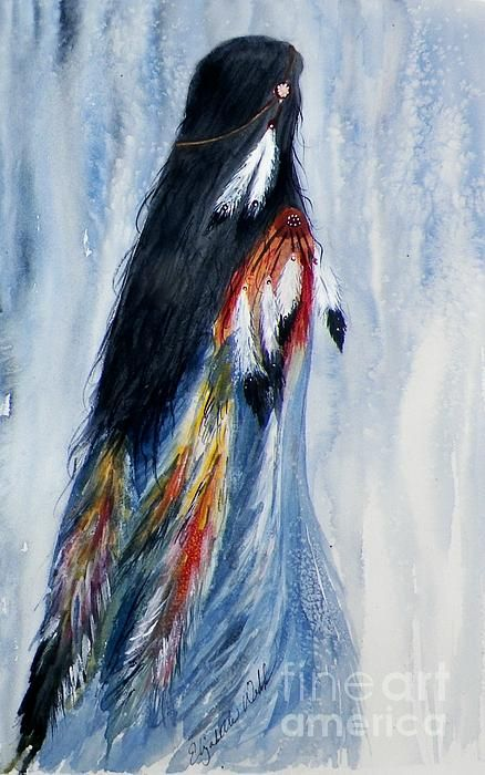 Angel Woman print at Fine Art America