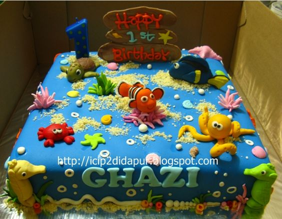 Nemo Cake Decorating Kit : Finding Nemo Cake Decorating Kit Birthday Topper #488 ...