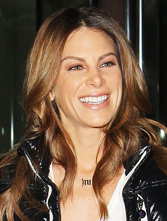 Jillian Michaels initial necklace: Michaels Hair, Hair Colors, Loose Weight, Jm Necklace, Initial Necklaces, Michaels Initial, Hair Beauty