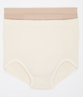 Firm Control Brief 2-Pack Nude