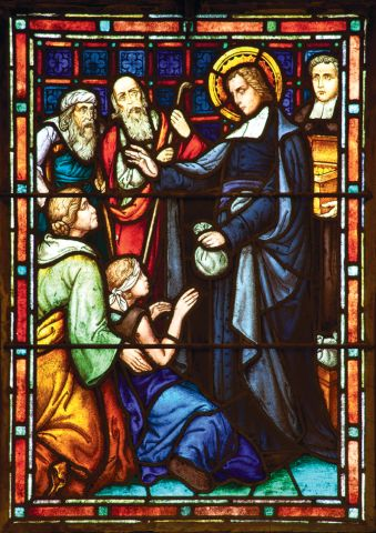 The Life of De La Salle | Saint Mary's College.  De la Salle was born to a wealthy family.  He used his wealth to help the poor.