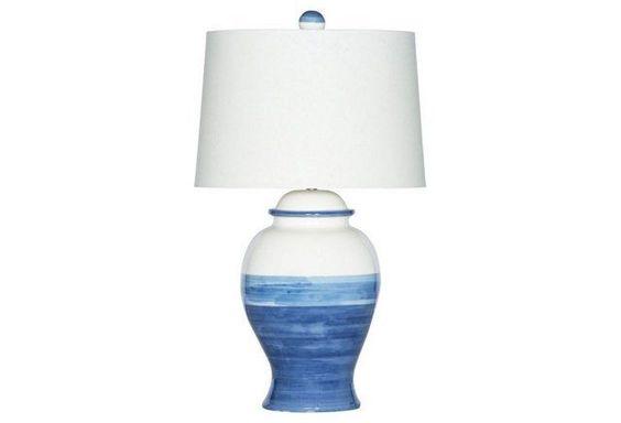 Balboa Bay Table Lamp, Blue
