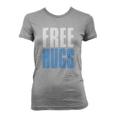 Cybertela Free Hugs Junior Girls T-shirt