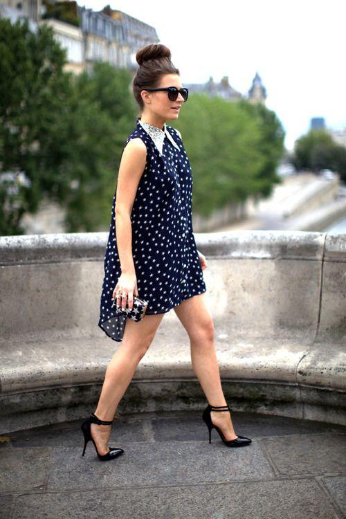 what-do-i-wear:    Jovonna LondonStar Dress, ASOS Pointed Heels,  Frassy Rags Star Rings, ASOS Sunglasses & Star Sequin Clutch(image:befrassy)
