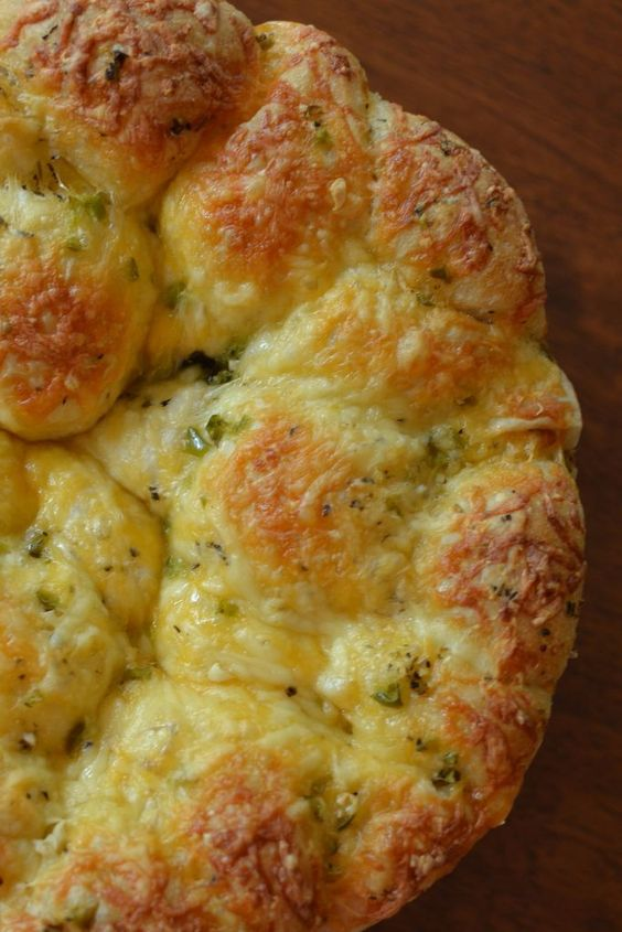 This delicious pull apart bread is so easy and delectable. The aromas from the oven will send you over the edge.  Most of the work for this masterpiece involves patience as the delicaci...