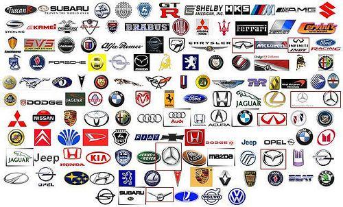 Marcas Con Logos Del Mundo Car Brands Logos Power Car Brands