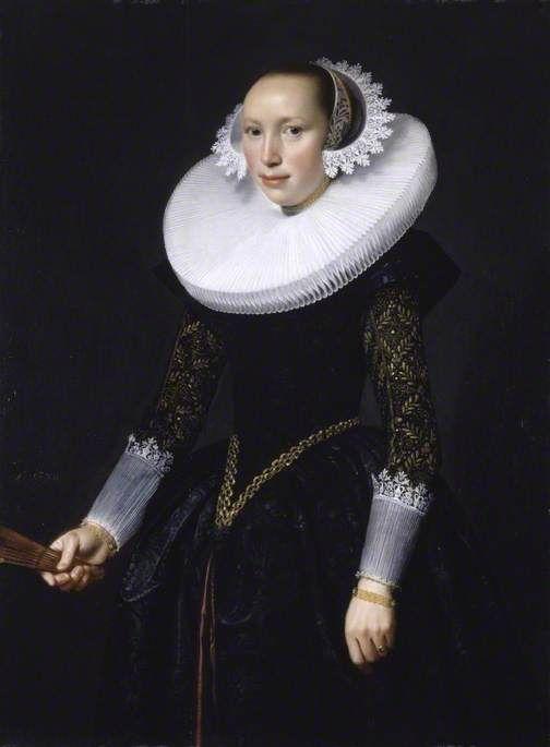 "Nicolaes Eliaszoon Pickenoy  ""Portrait of a Woman"""