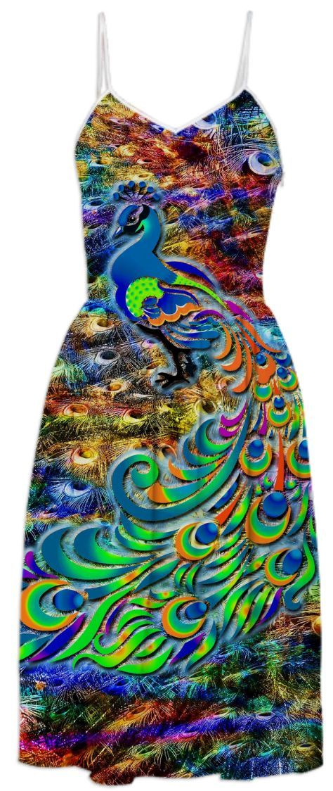 Peacock Fantasy from Print All Over Me