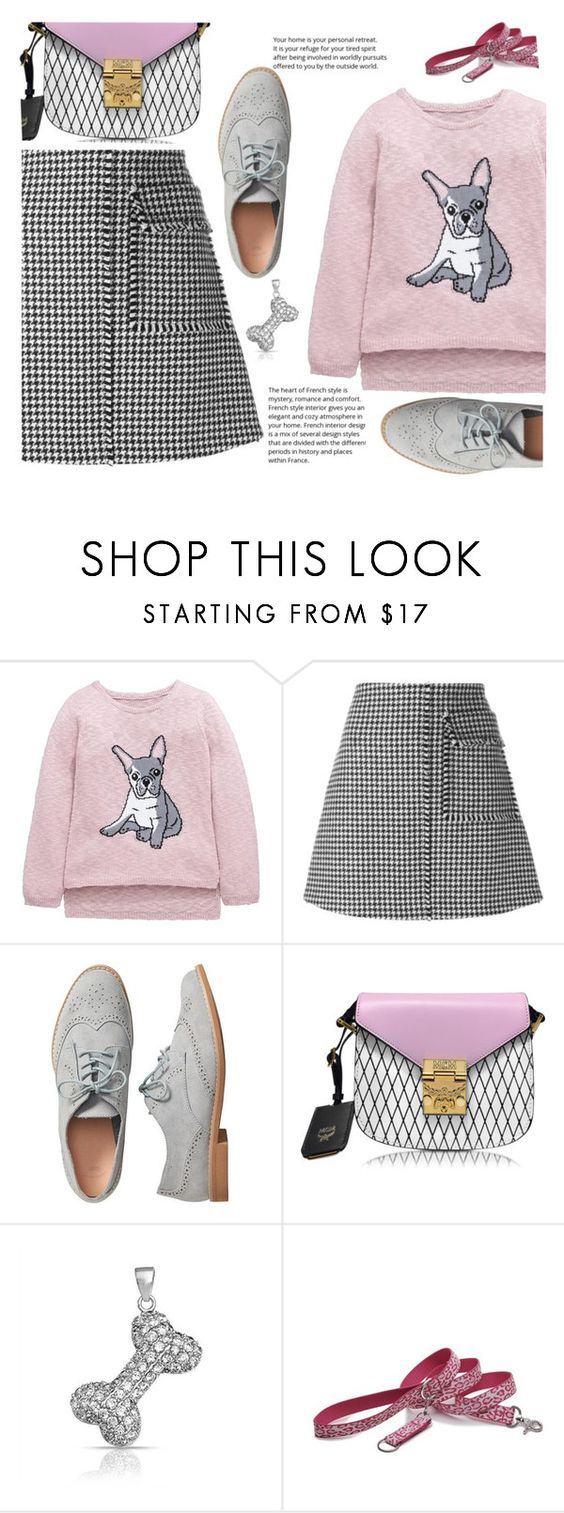 """Ruff ruff"" by juliehalloran ❤ liked on Polyvore featuring J.W. Anderson, Gap, MCM, Bling Jewelry and Harry Barker"