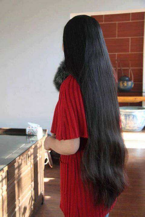Long indian hair fetish