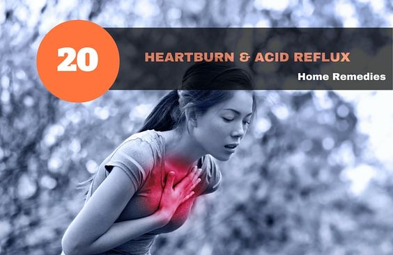 20 Heartburn & Acid Reflux Home Remedies Heartburn or acid reflux often occurs in both children and adults. The digestive acids from your stomach get back into the esophagus – the organ that has the role of transporting the food to the stomach. This process causes heartburn which islike something is burning you behind your […]