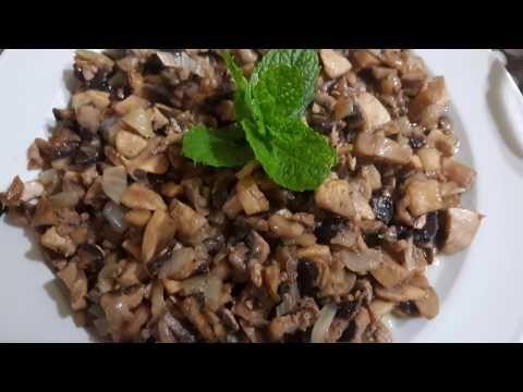 طريقه طبخ الفطر على طريقه سوريه ولا اطيب Youtube Food Peas Black Eyed Peas