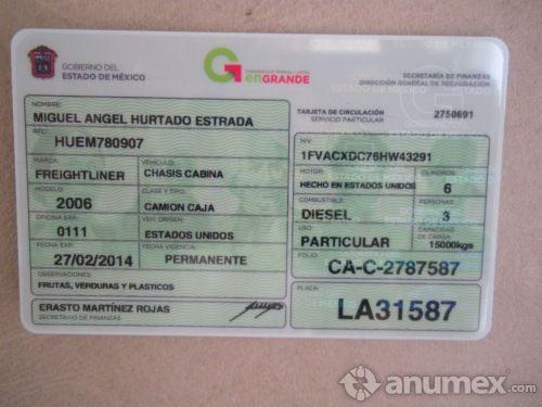 Renovacion o reposicion de tarjeta de circulacion edo mex - Medias para la circulacion ...
