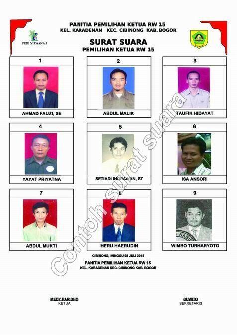 Surat Suara Pemilihan Rt : surat, suara, pemilihan, Contoh, Surat, Suara, Pemilihan, Suara,, Rules,, Makassar