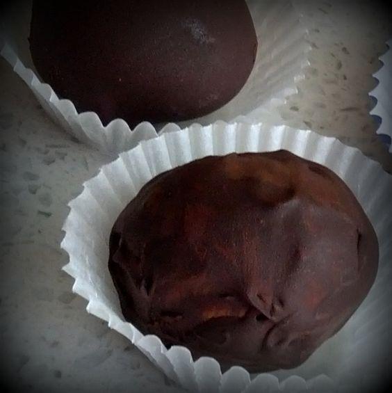 Dark Chocolate Fudge Balls