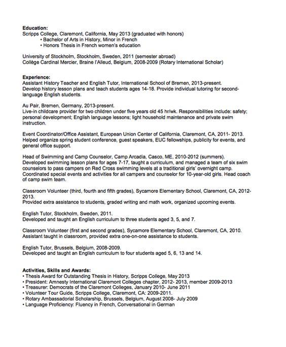 private tutor resume samples visualcv resume samples database - Private Tutor Resume