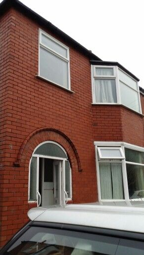 1930s arched porch semi detached