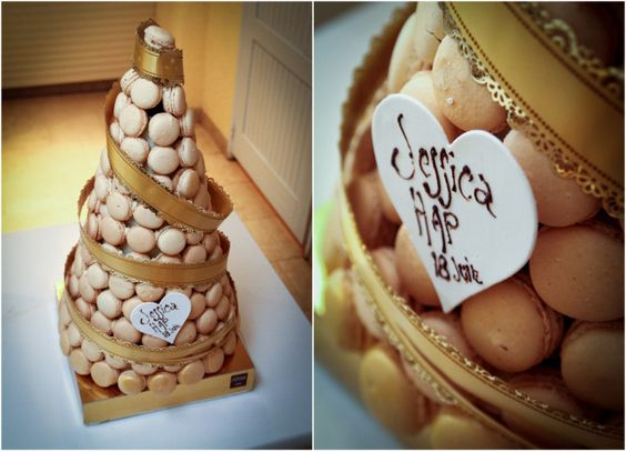 Piece montee de macarons?  Real Wedding by Stirling Photography