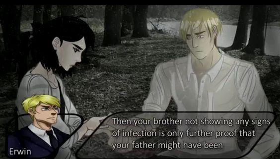 Erwin and mikasa