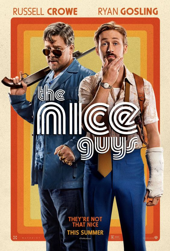 The Nice Guys Poster Ryan Gosling and Russell Crowe