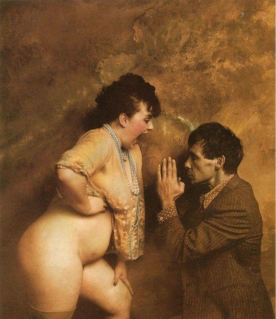 El grotesco y controvertido erotismo de Jan Saudek