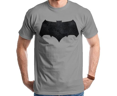 Batman Vs Superman - Batman Logo Relevo Camiseta Camisa T Shirt Tee
