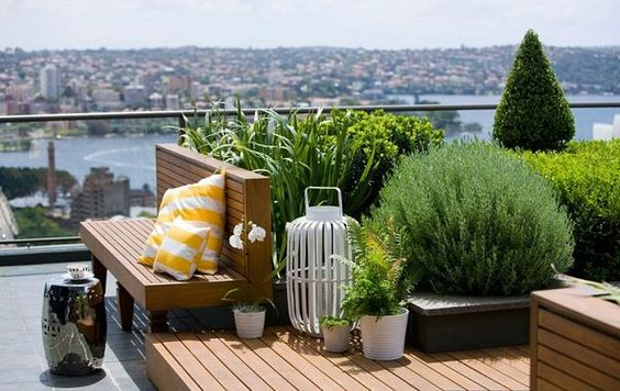11 Essential Rooftop Garden Tips and Tricks for the Beautiful Roof-terrace  Garden | Rooftop gardens, Terraced garden and Gardens