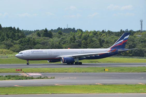 "orthomatsu: ""2016/08/21 12:23 RJAA AFL Airbus A330-343X VQ-BMV """