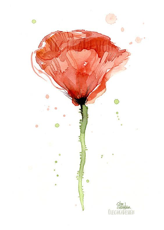 Poppies Watercolor Poppy Print Poppies Prints Red Poppy Etsy Poppy Flower Painting Watercolor Poppies Poppy Wall Art