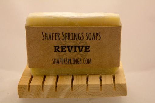 Revive Herbal Soap - all natural herbal soap with Calendula, plantain, and self heal herb - https://www.shafersprings.com/product/revive-herbal-soap/