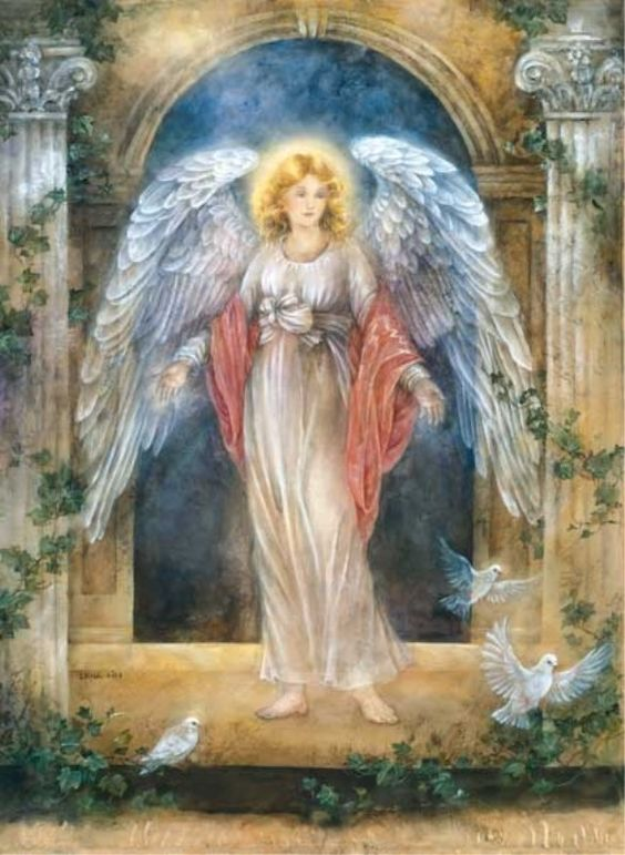 Lena Liu's Guardian Angel | Engelen | Pinterest | Catholic ...