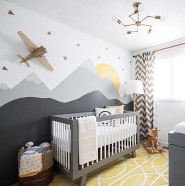 Modern Nursery transitional-nursery