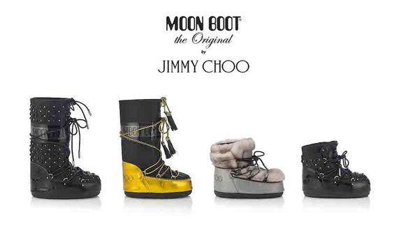 Moon Boot® y Jimmy Choo presentan una colección capsula en Edición Limitada - Ediciones Sibila (Prensapiel, PuntoModa y Textil y Moda)