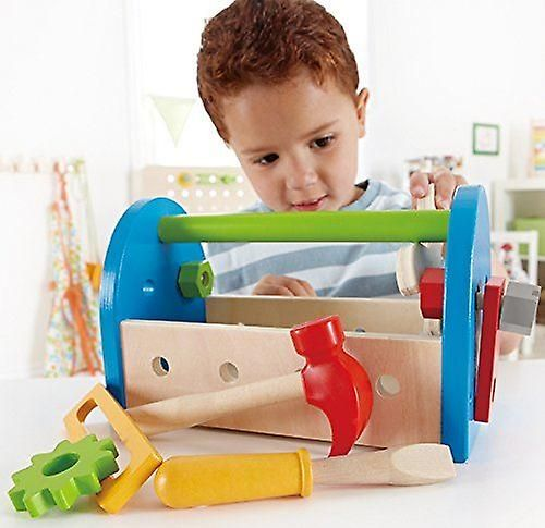 Hape Love Play Learn Wooden Toy - Fix It Tool Box - E3001 - New | Baby Toys & Activity Equipment | Fruugo United Kingdom
